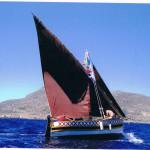 """l'imbarcazione """"Lu pisci Re"""" a Favignana (TP) 2012."""